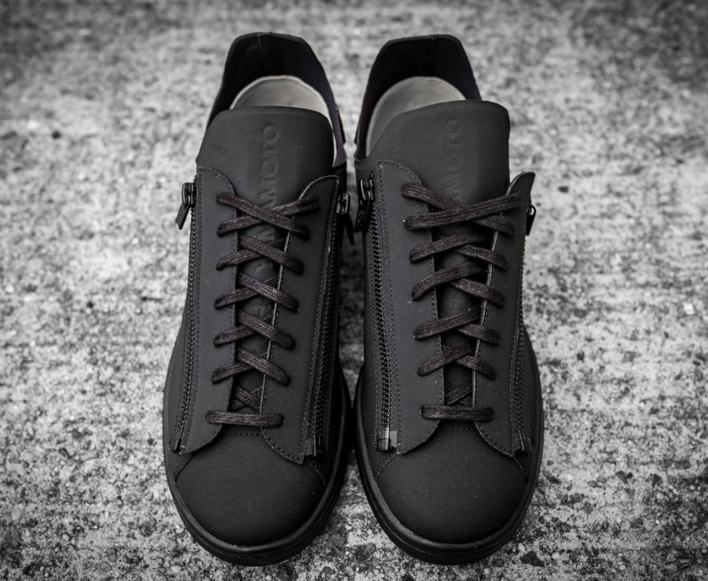 d458334bd Adidas Y3 Stan Smith Zip Triple Black Available Now