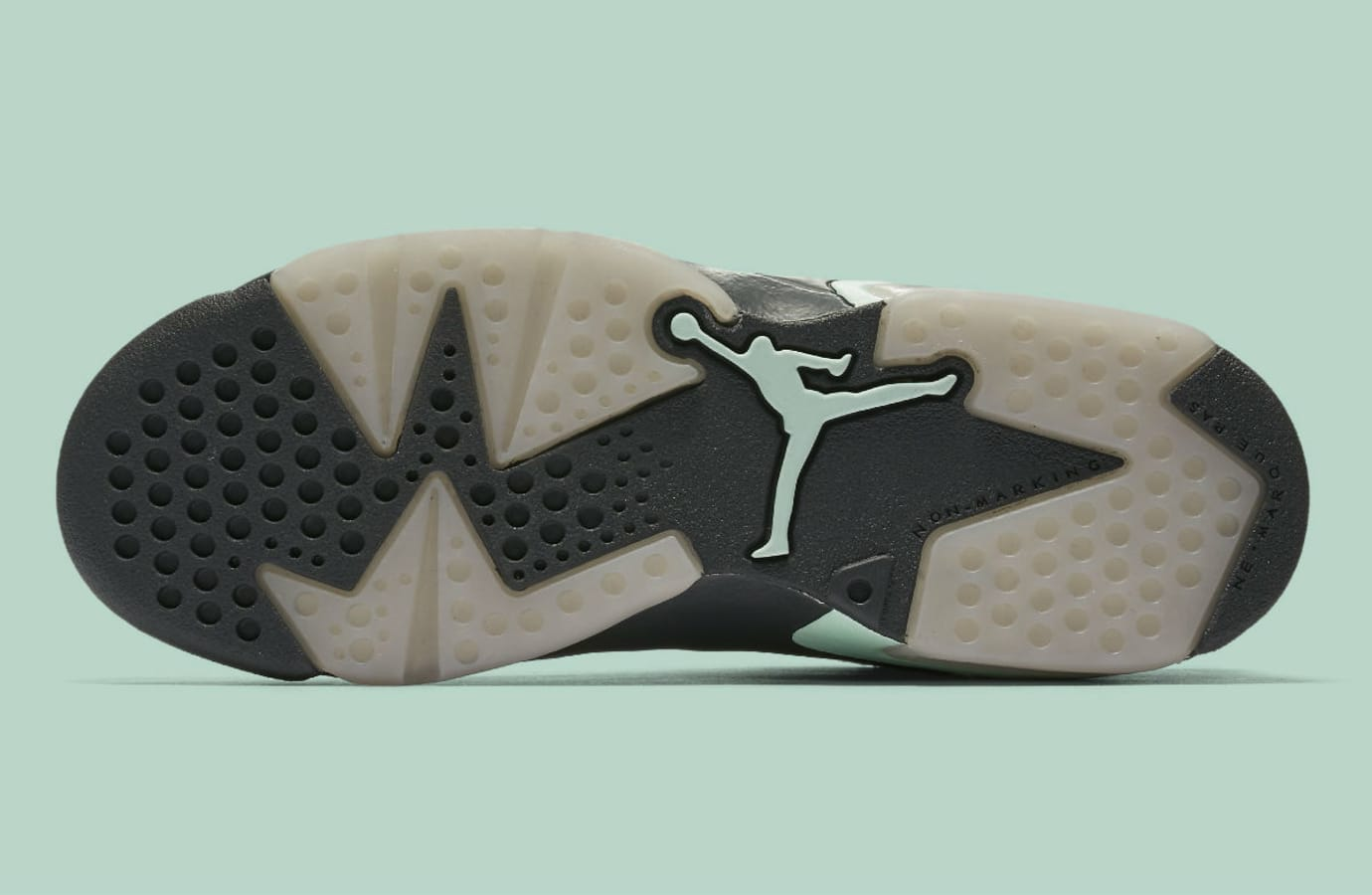 5874130d7b8 Air Jordan 6 Low Mint Foam Release Date Sole 768878-015