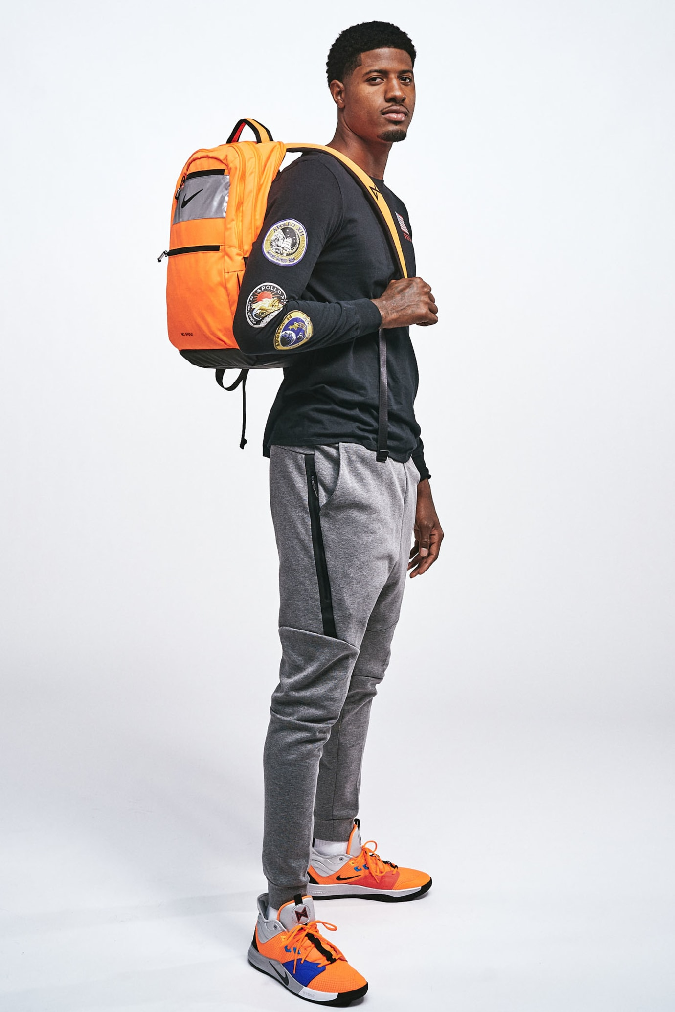 Nike PG 3 NASA Release Date CI2666-800 Backpack
