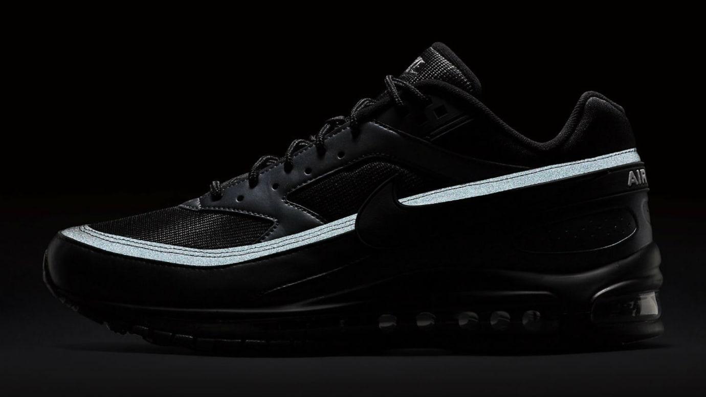 brand new bf14b b3be3 Image via Nike Nike Air Max 97BW Black Release Date AO2406-001 3M