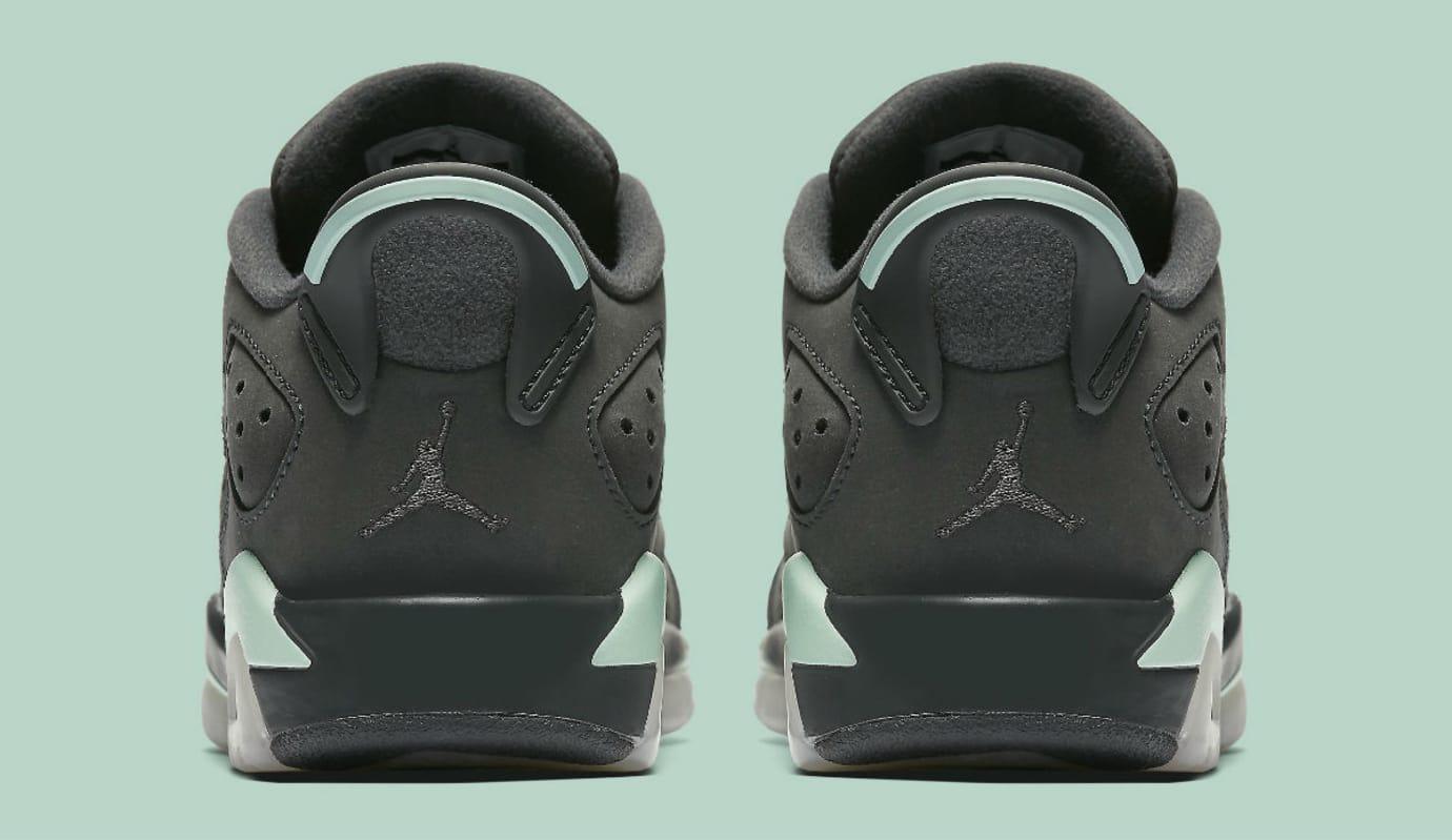Air Jordan 6 Low Mint Foam Release Date Heel 768878-015