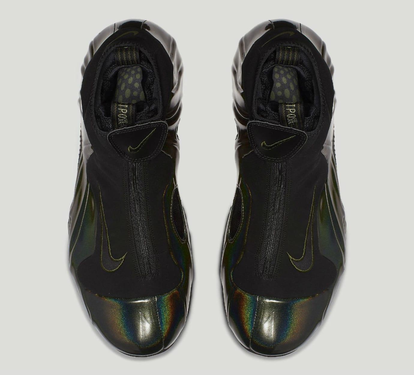 ef0b675b7e Image via Nike Nike Air Flightposite Legion Green Release Date AO9378-300  Top