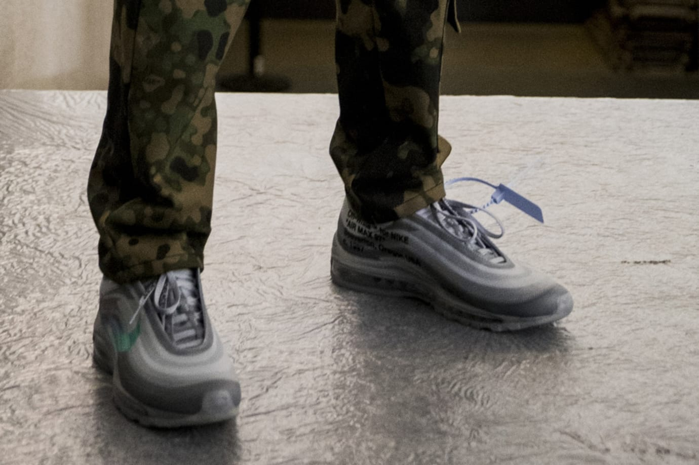 Off-White x Nike Air Max 97 'Grey' (Backstage)