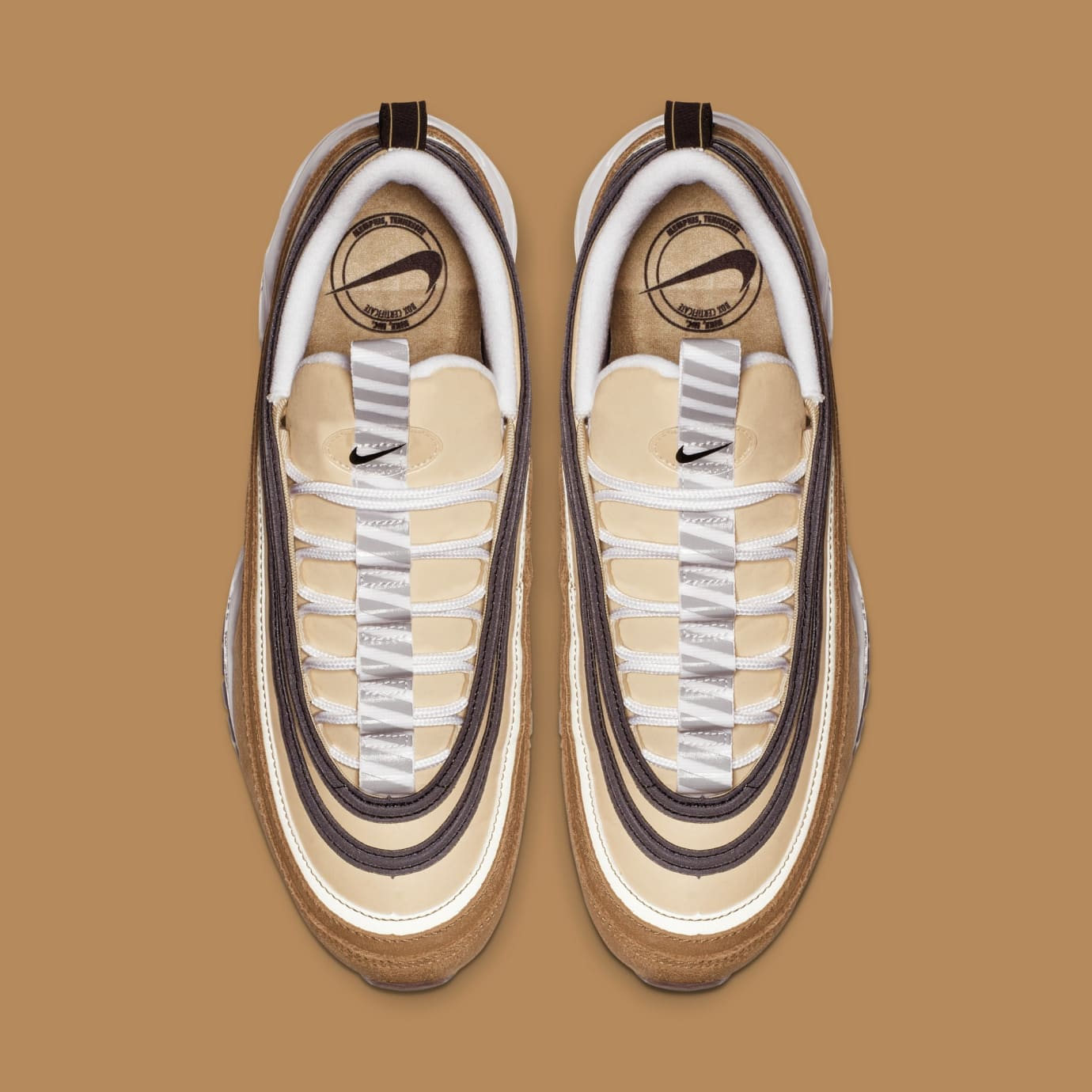Image via Nike Nike Air Max 97  Ale Brown Black-Elemental Gold  921826-201 11c314c7e