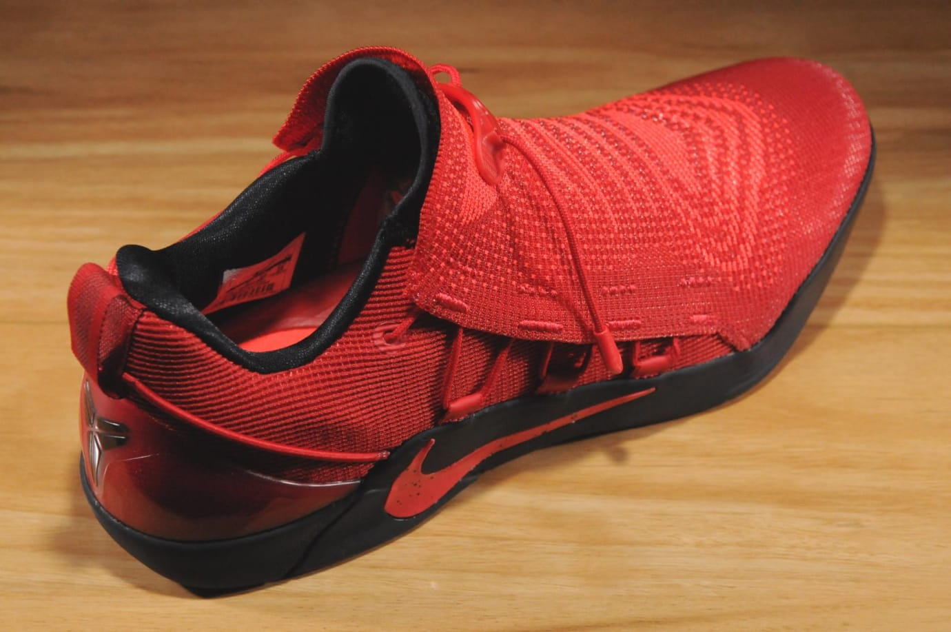 quality design 76858 bb9a8 Nike Kobe A.D. University Red Release Date Heel 882049-600