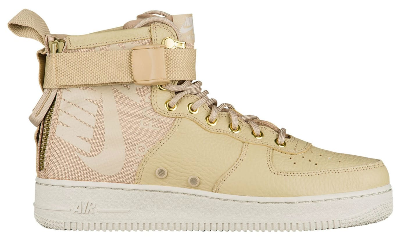 Nike SF Air Force 1 Mid Mushroom Release Date Profile 917753-200