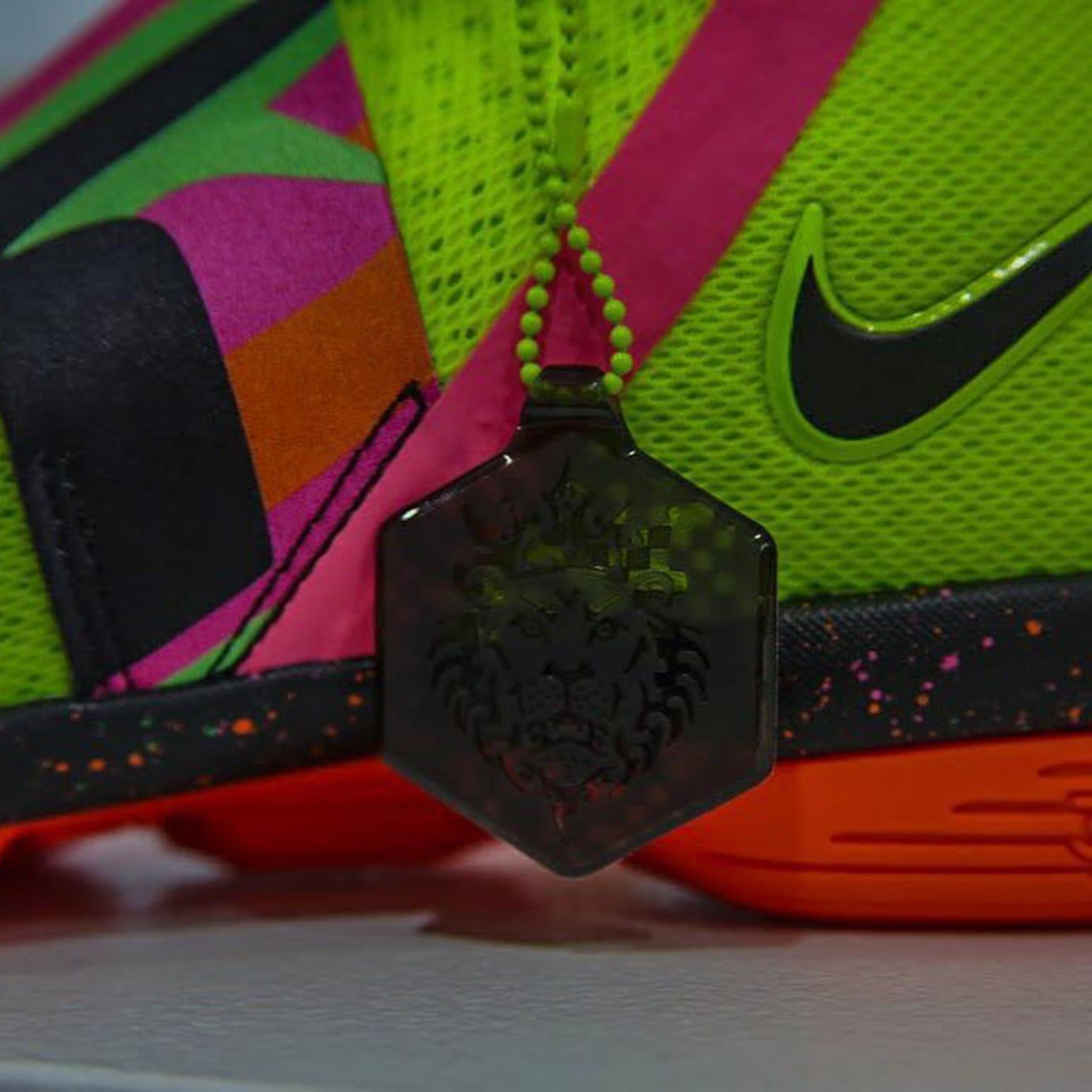 Nike LeBron 14 Ultimate Warrior Medial AA3258-703