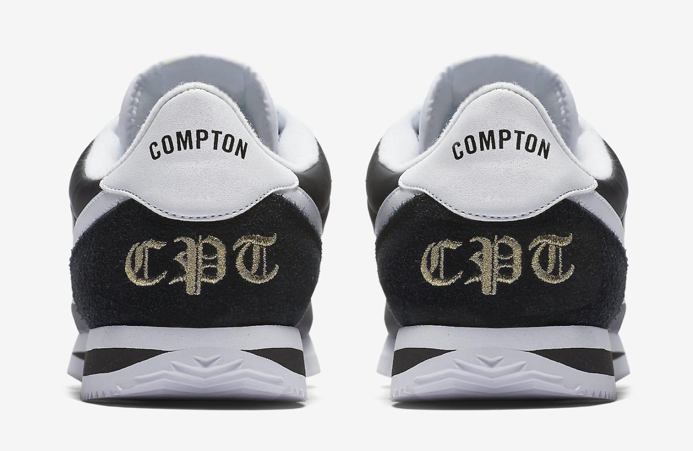 Nike Cortez Compton 902804-001 Heel