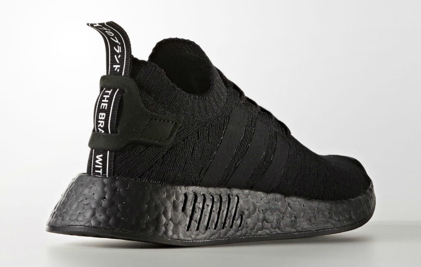 Adidas NMD R2 Triple Black Release Date Lateral BY9525