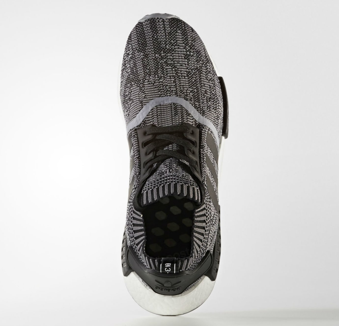 Adidas NMD R1 Primeknit Core Black White Top CQ1863