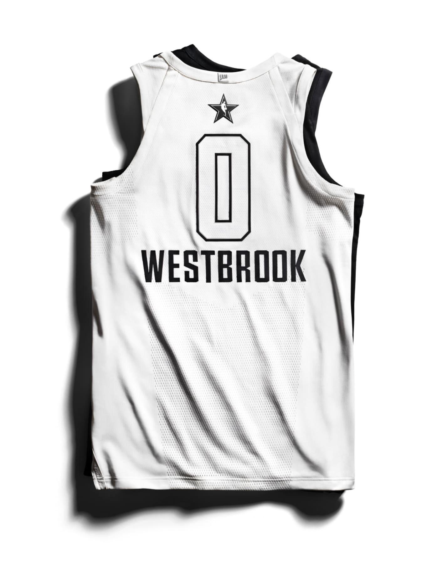595a3b50bfd2 Jordan Brand 2018 NBA All-Star Jerseys Westbrook Back