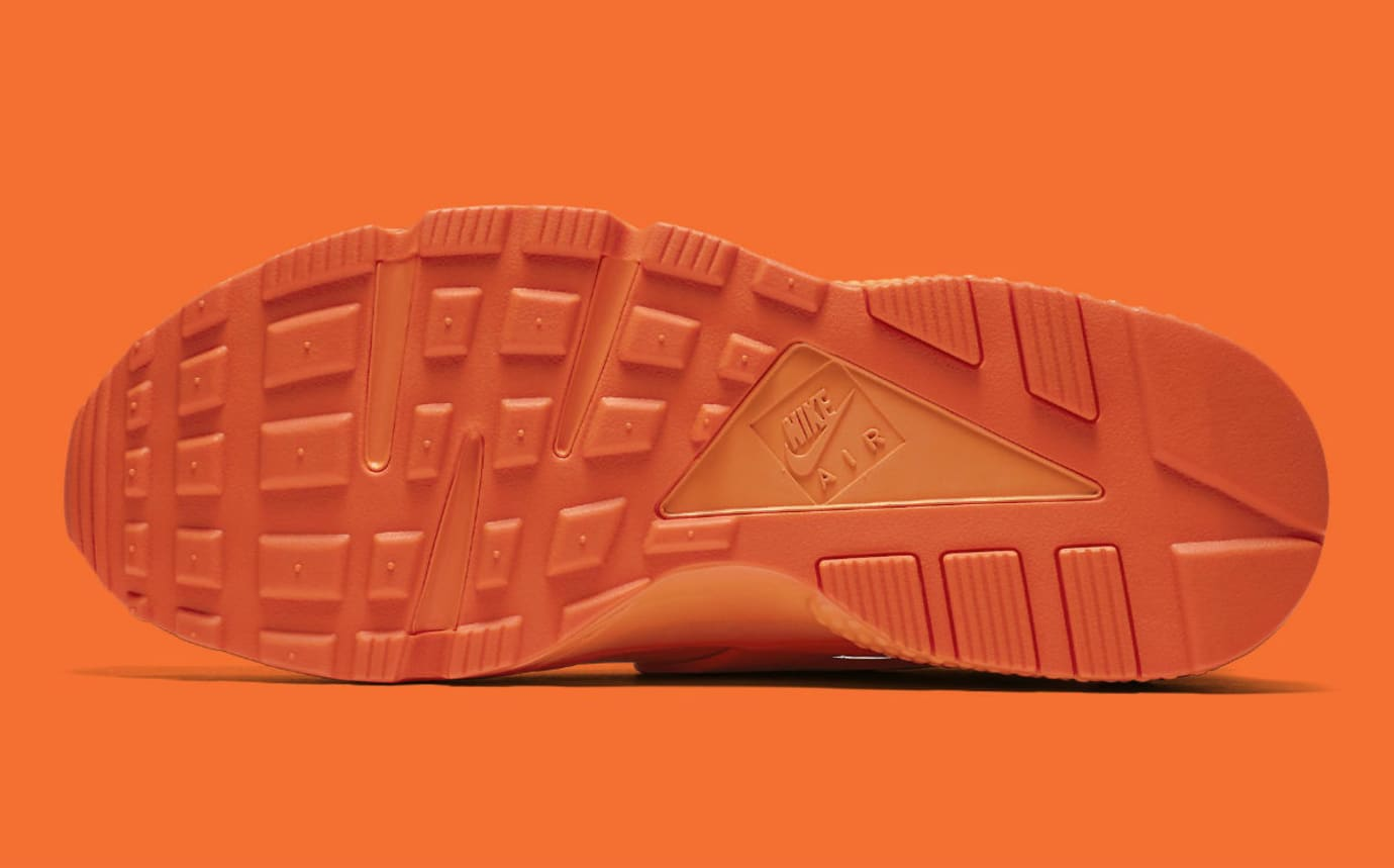 7a859a059 Nike Air Huarache Run Chicago Orange Release Date AJ5578-800 Sole