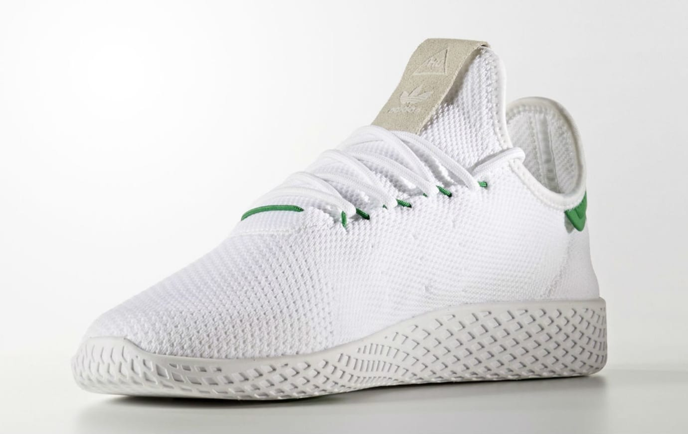 check out 0ccb6 730dc Pharrell x Adidas Tennis Hu White Green Release Date BA7828 ...