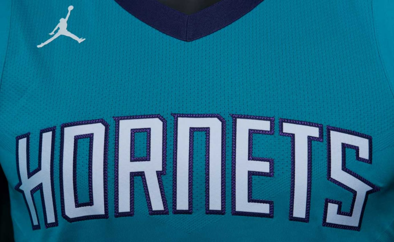 Jordan Hornets Jersey Away Icon Chest