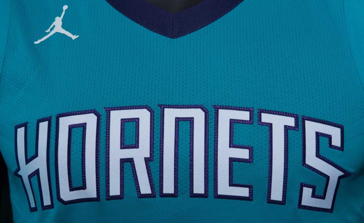 Jordan Hornets Jersey Away Icon Chest