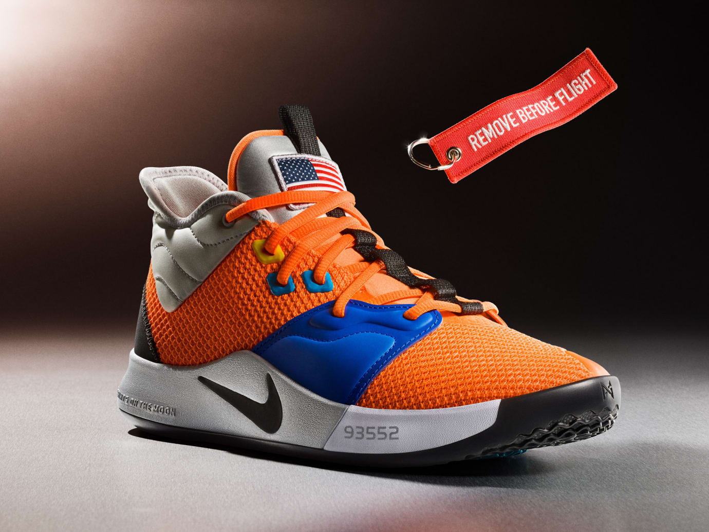Nike PG 3 NASA Release Date CI2666-800 Beauty