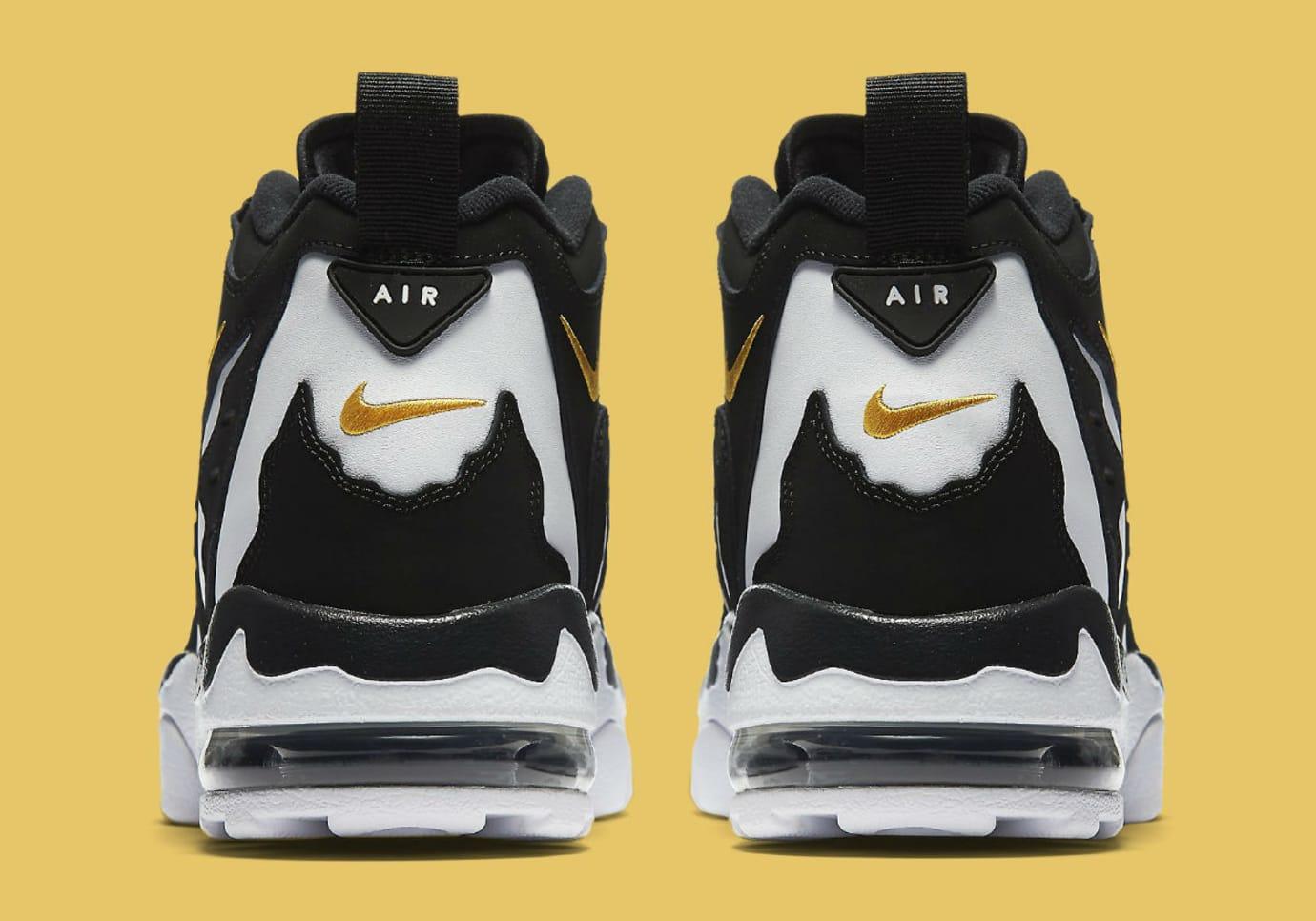 Nike Air DT Max 96 Black White Release Date 316408-003 Heel