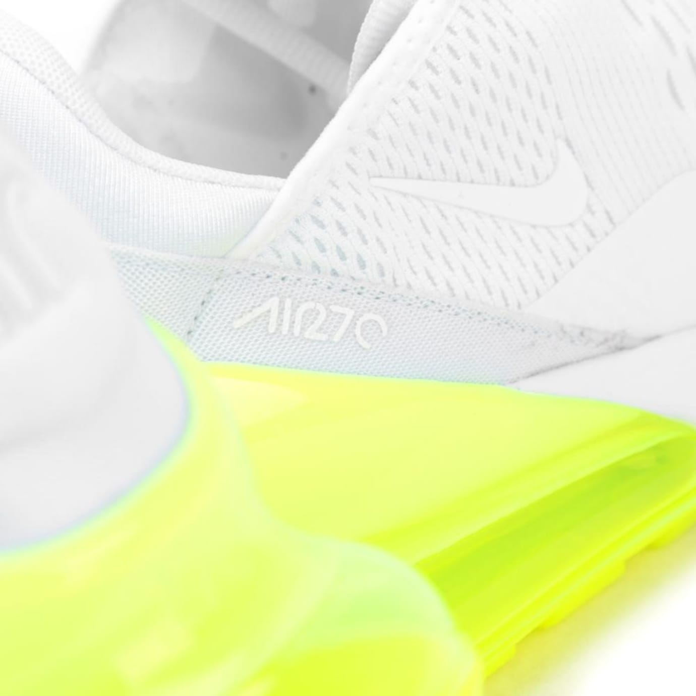 Nike Air Max 270 'White'Volt'