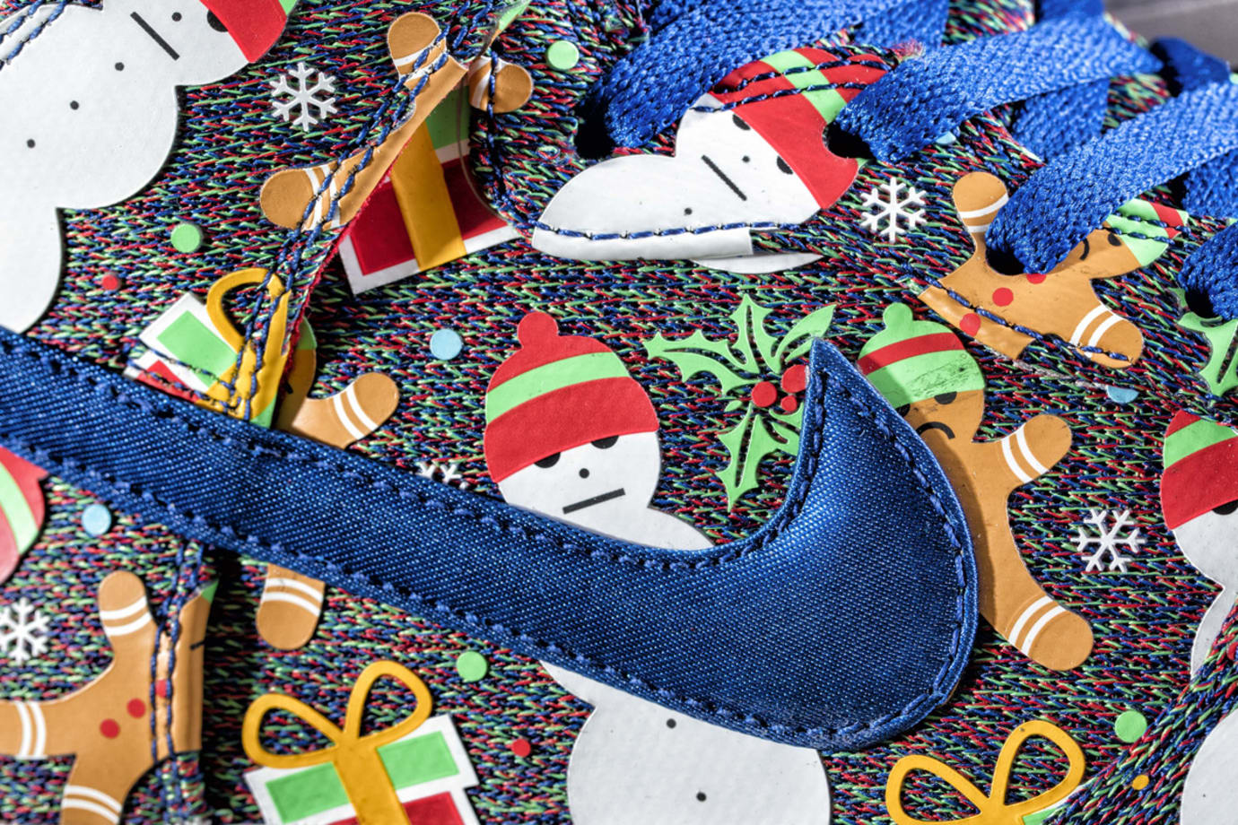 Concepts Nike SB Dunk High Ugly Christmas Sweater 2017 | Sole Collector