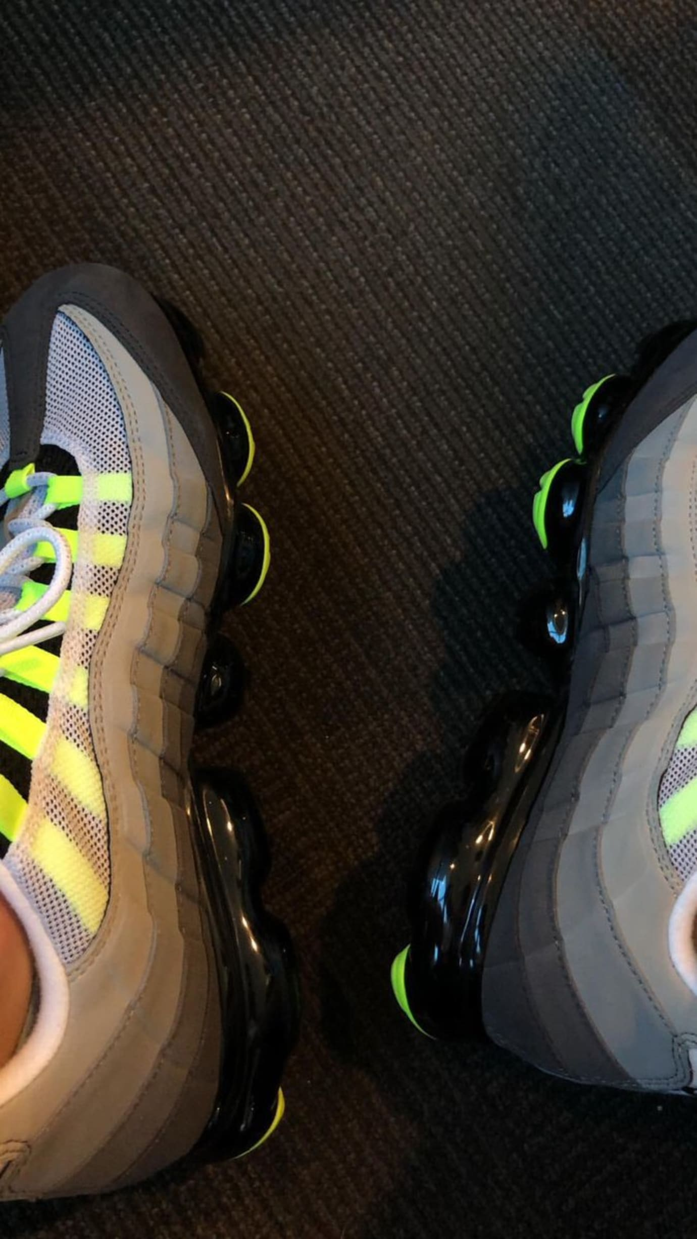 new style ad795 bee4a Nike Air VaporMax 95 'Neon' Early Preview | Sole Collector