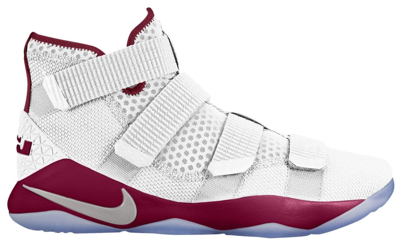 Nike LeBron Soldier 11 TB White Burgundy