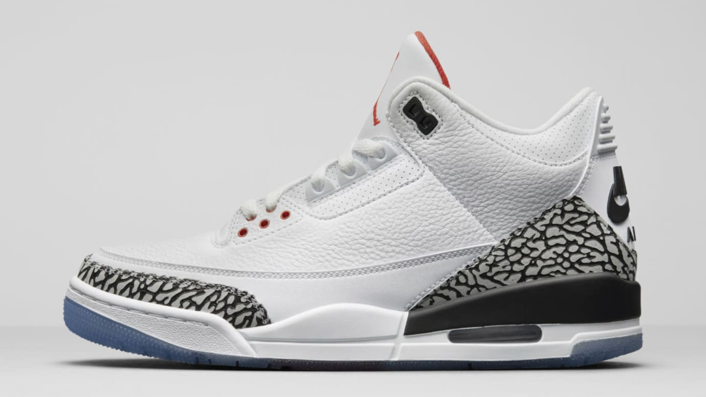 c02377491c25 Air Jordan 3 III Clear Sole Release Date 923096-101 Profile