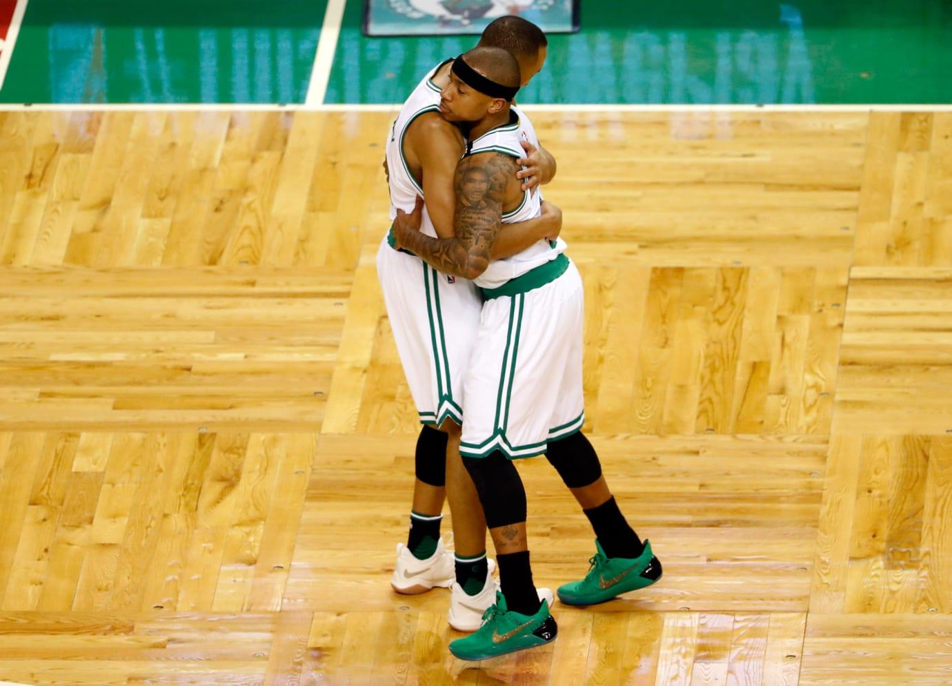 Isaiah Thomas Celtics Sister Sneakers