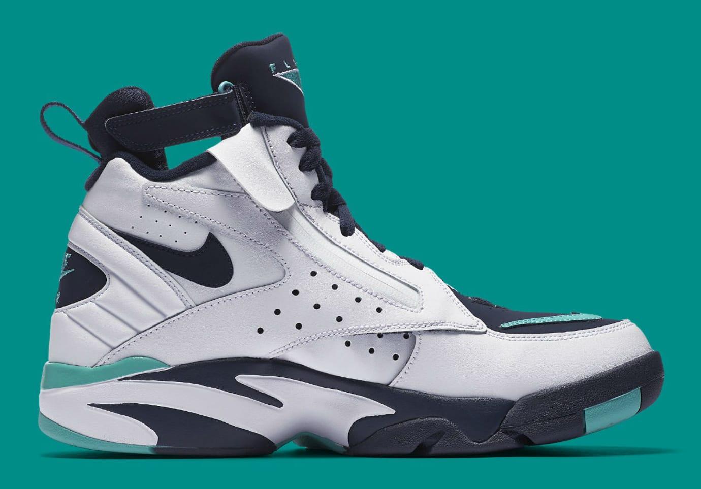 Image via Nike Nike Air Maestro 2 II Hyper Jade Release Date AH8511-100  Medial 934b1f052