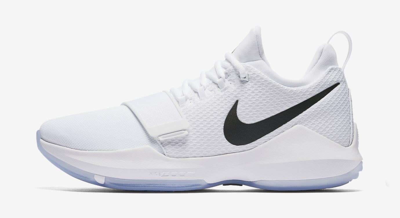 Nike PG1 White Black 878627-100 Profile