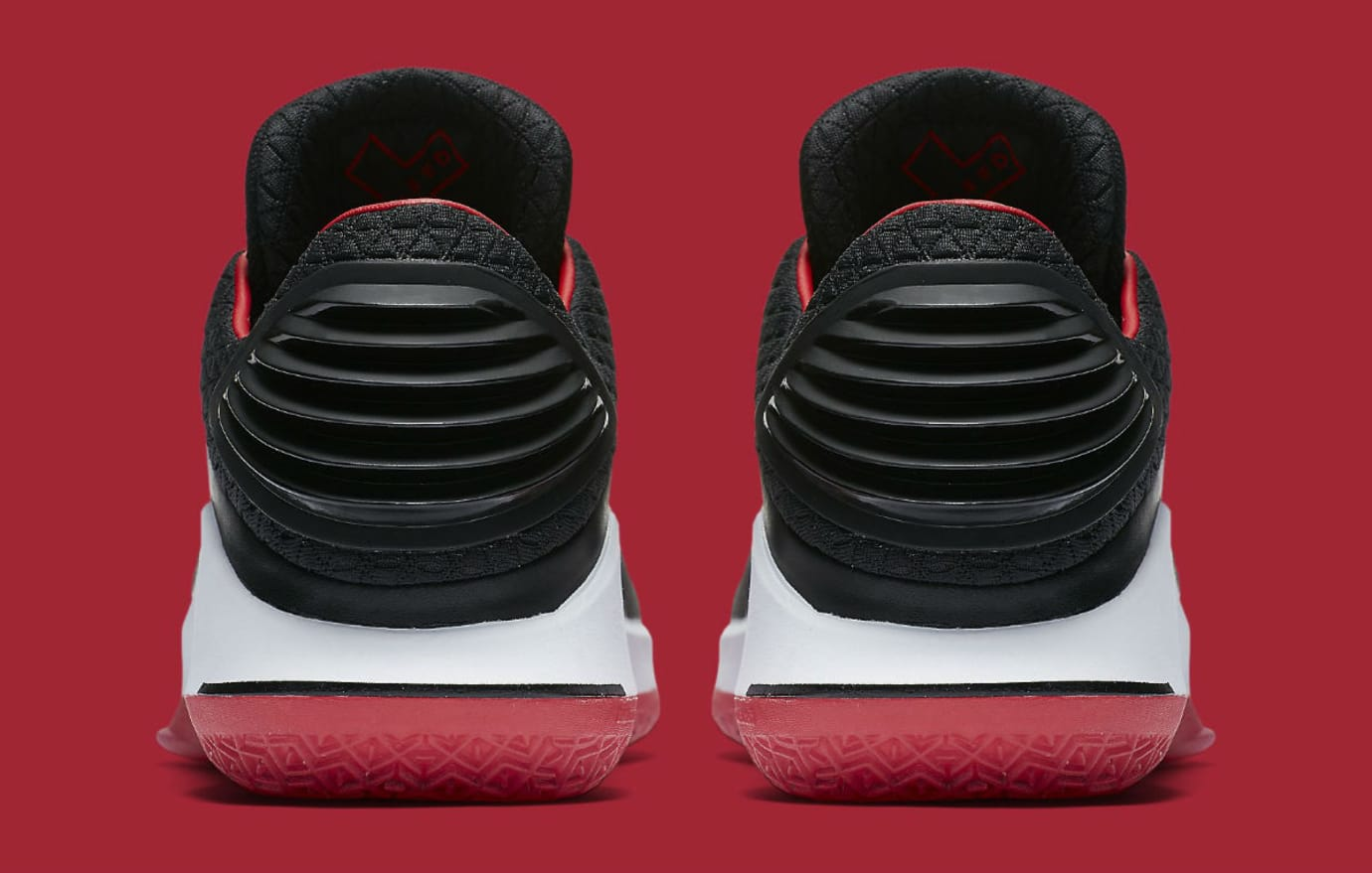 Air Jordan 32 Low Banned Release Date Heel AA1256-001