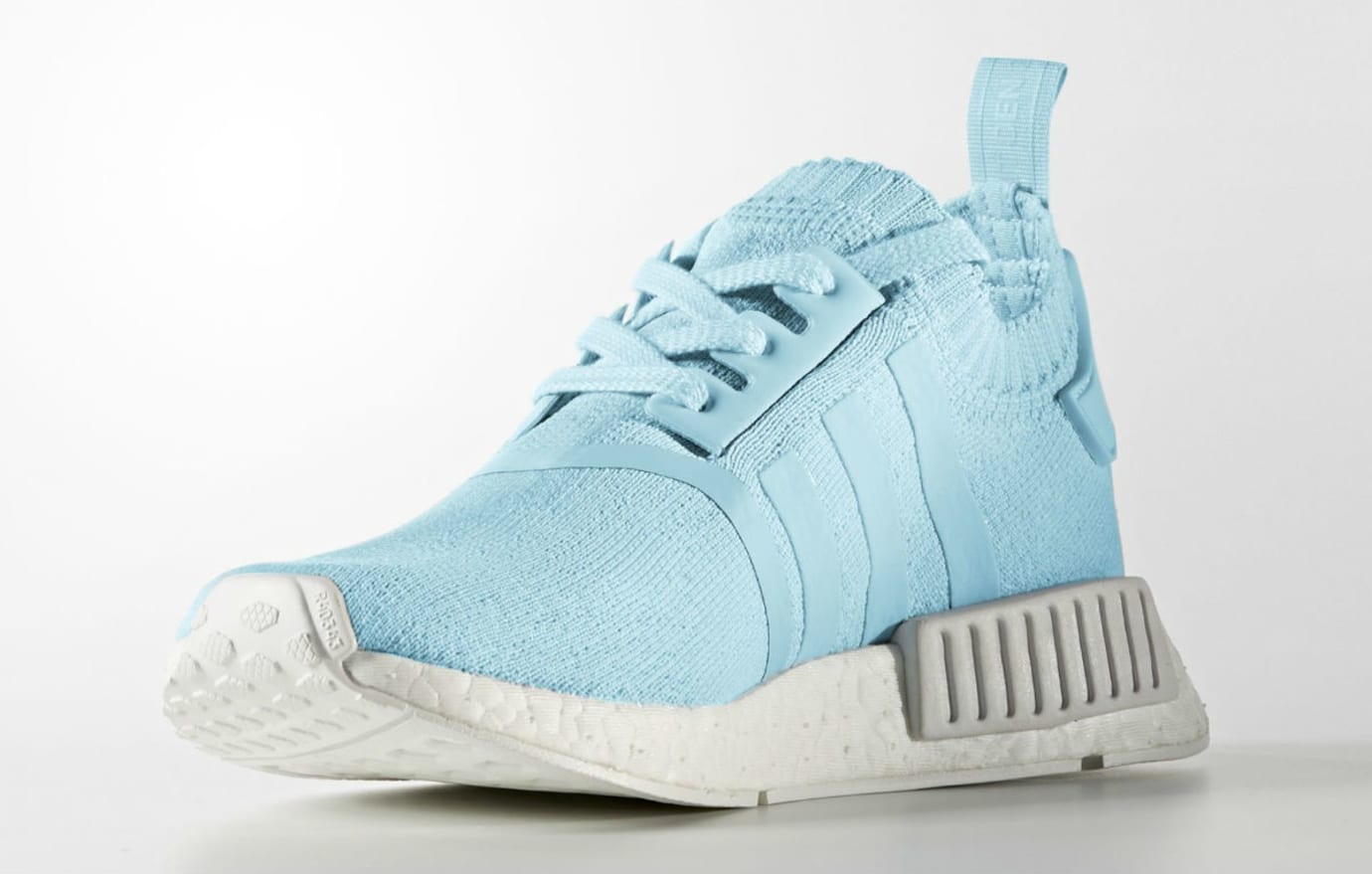 Adidas NMD R1 Primeknit Ice Blue Release Date Medial BY8763