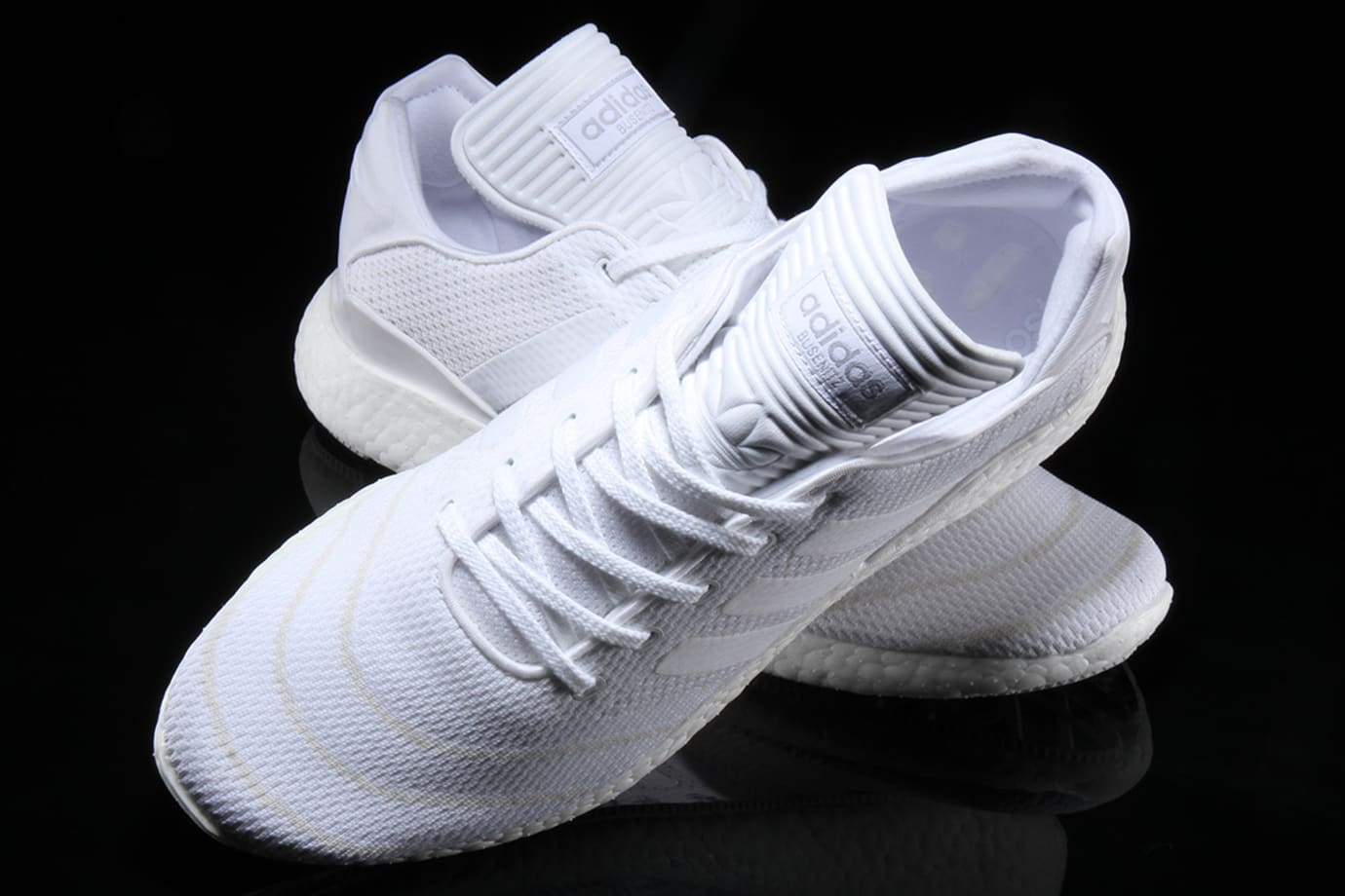 sneakers for cheap 84730 bead2 Image via Premier · Adidas Busenitz Pure Boost Triple White