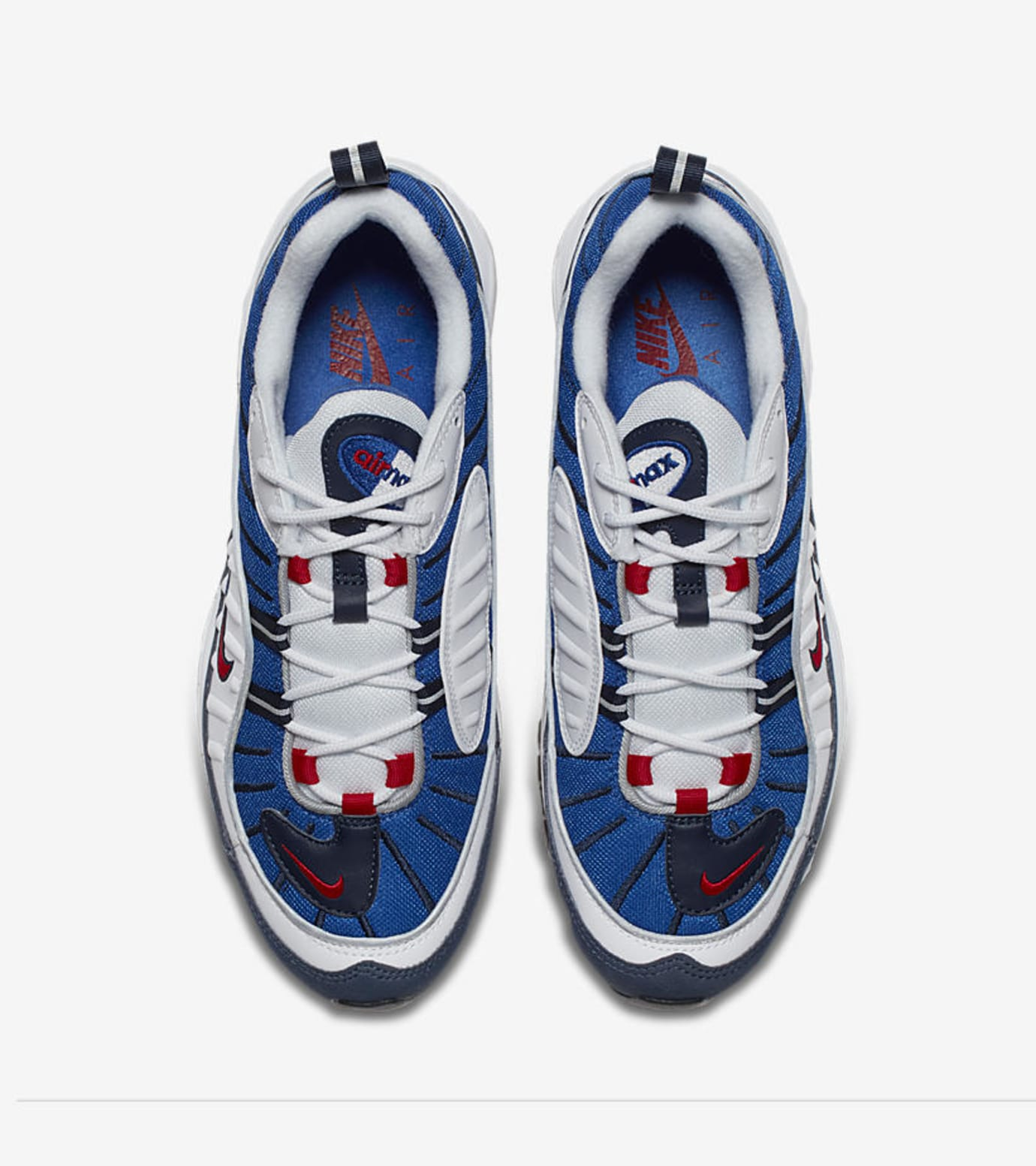 1c20d74dc500 Image via Nike Nike Air Max 98  Gundam  640744-100 (Top)