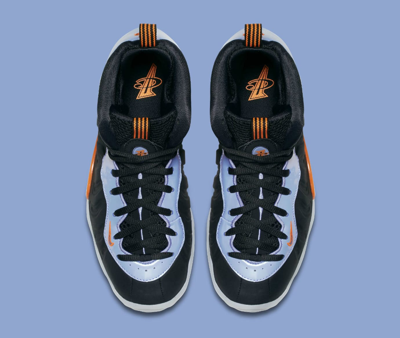be6d7bd9840b7 Image via Nike Nike Little Posite One Black Total Orange Twilight Pulse  White Release Date 644791-008 Top
