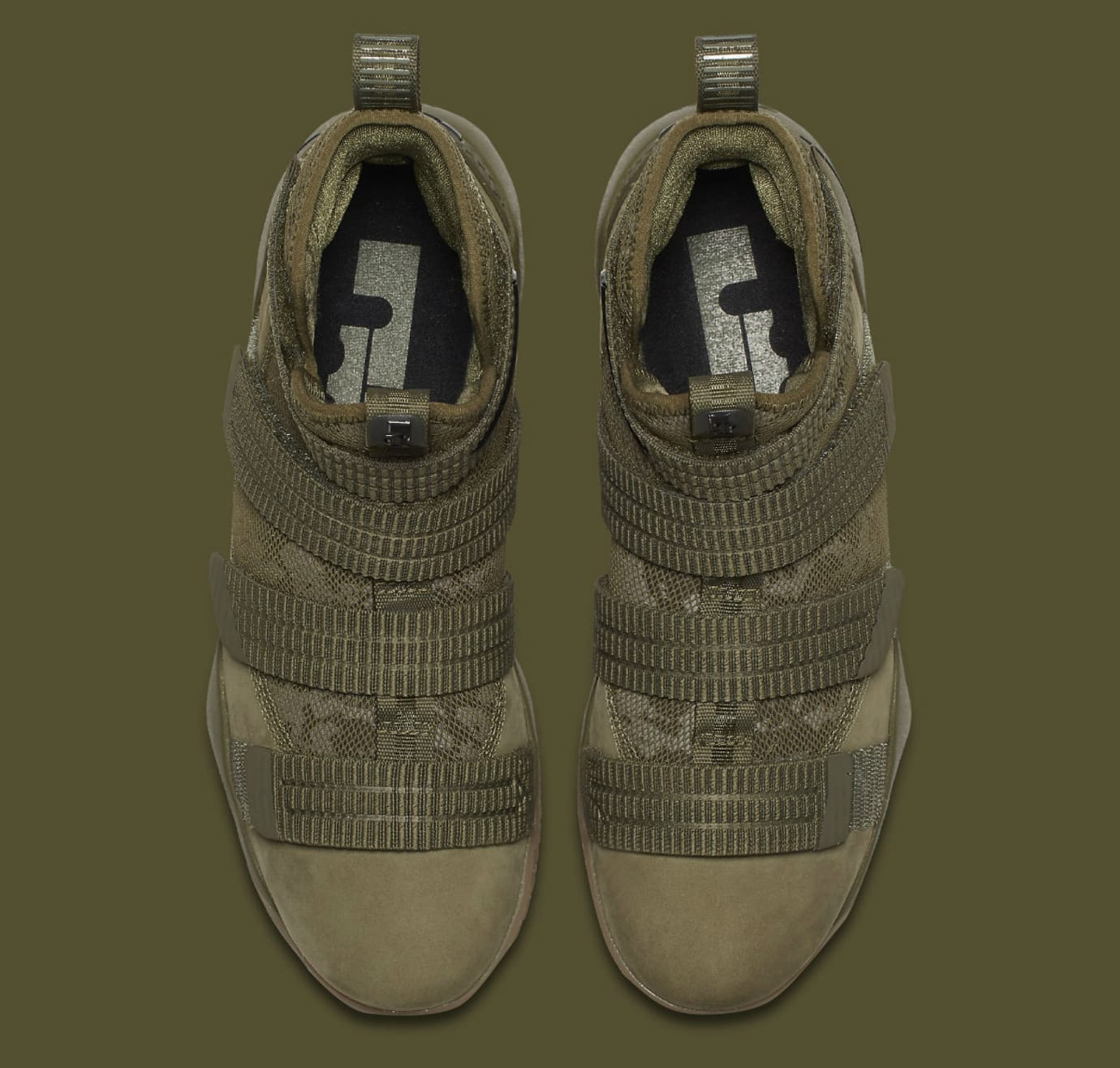 070df351b0d Nike LeBron Soldier 11 SFG Olive Release Date Top 897646-200