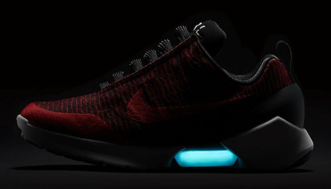 Nike HyperAdapt 1.0 Habanero Red Release Date 843871-600 Profile Dark