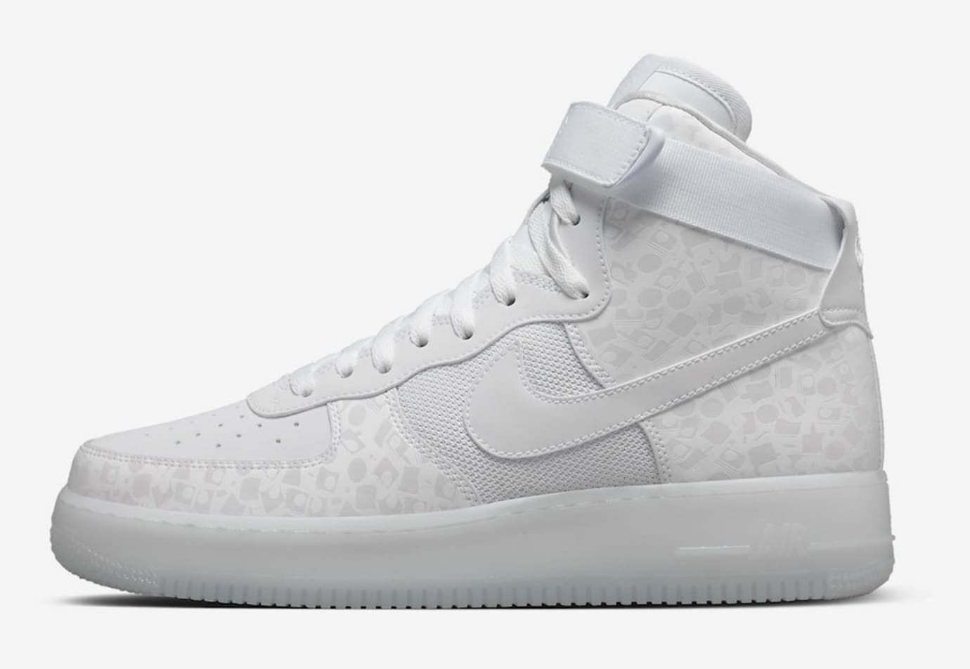 Stash x Nike Air Force 1 High AO9296-100 (Lateral)