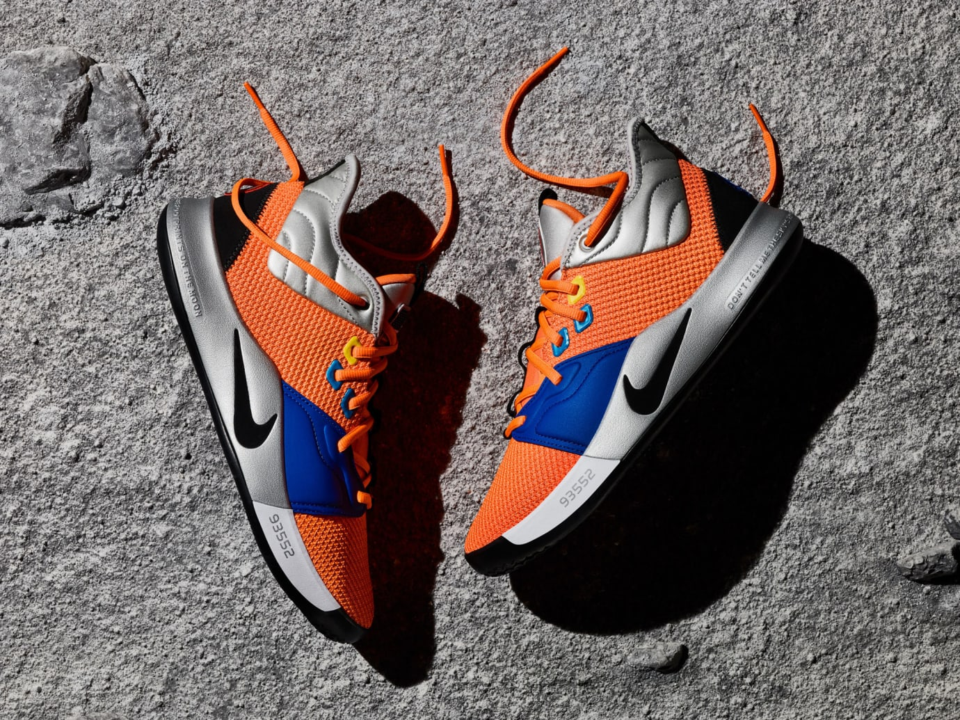 Nike PG 3 NASA Release Date CI2666-800 Side