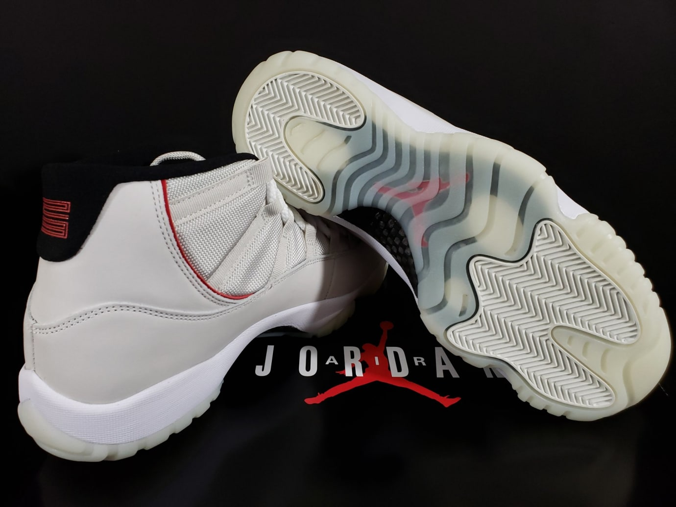 huge selection of 2ec0b 30e0d Image via Fineline1721 · Air Jordan 11 XI Platinum Tint Release Date  378037-016 Sole