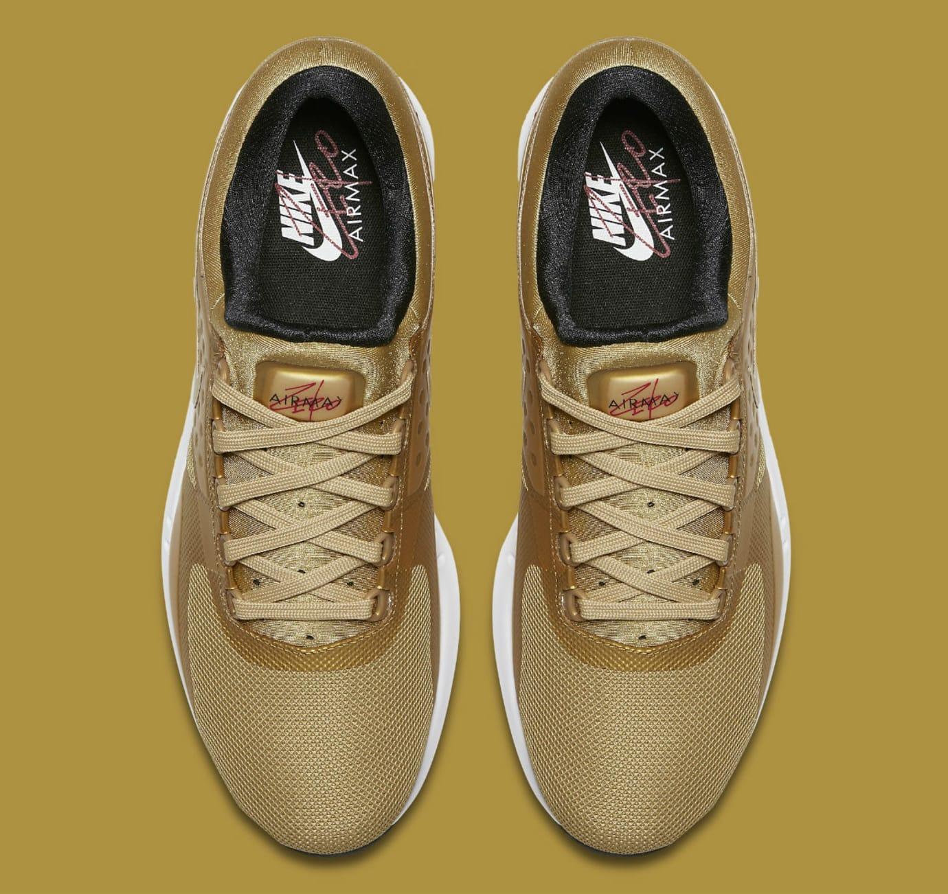 NIke Air Max Zero Metallic Gold Release Date 789695-700  c5f5516fb