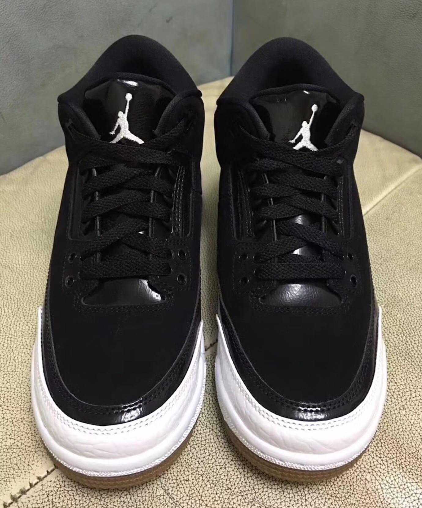 Air Jordan 3 III GS Black White Release Date 441140-022 Front e8afee5e67