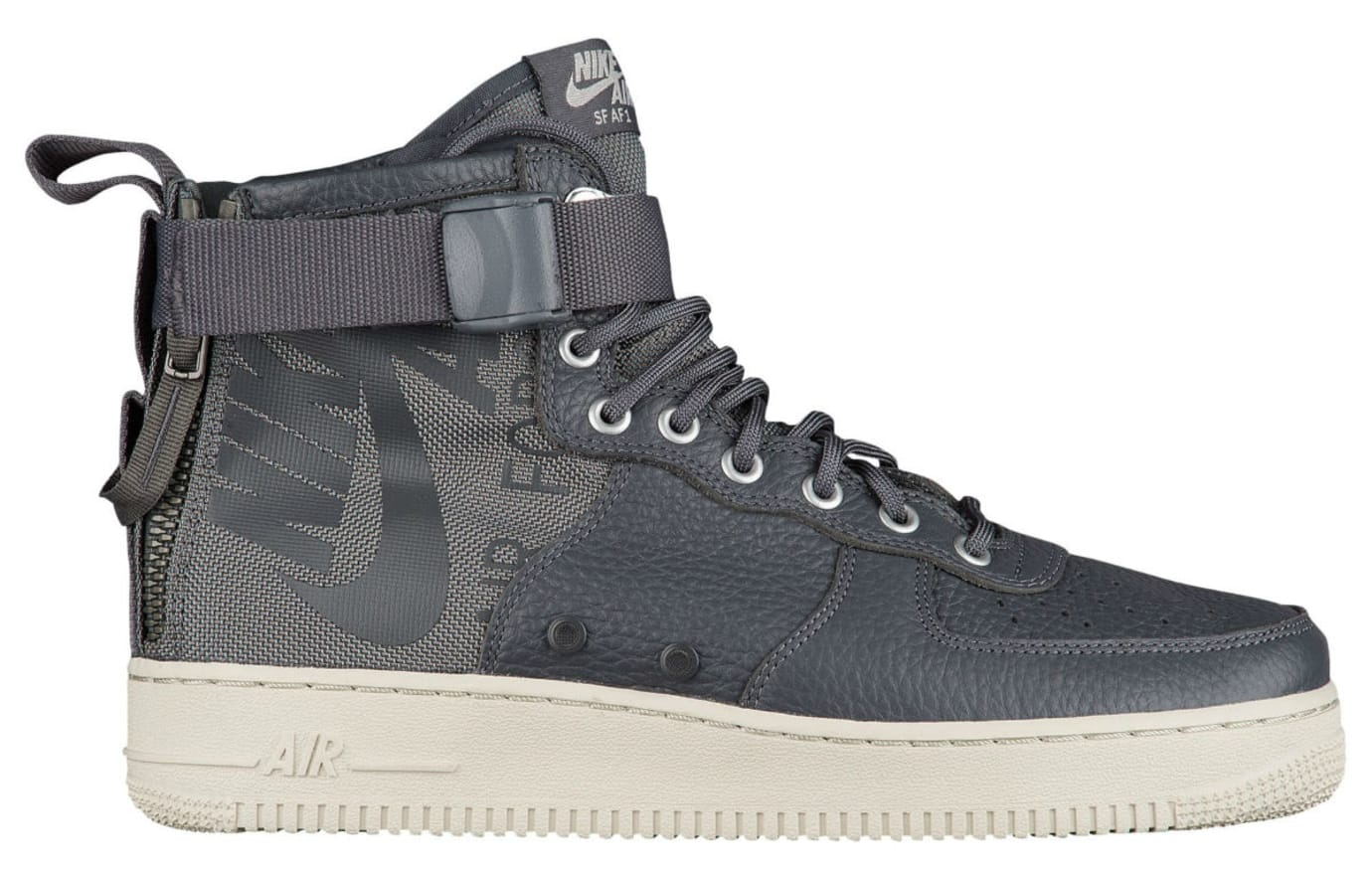 Nike SF Air Force 1 Mid Dark Grey Release Date Profile 917753-004