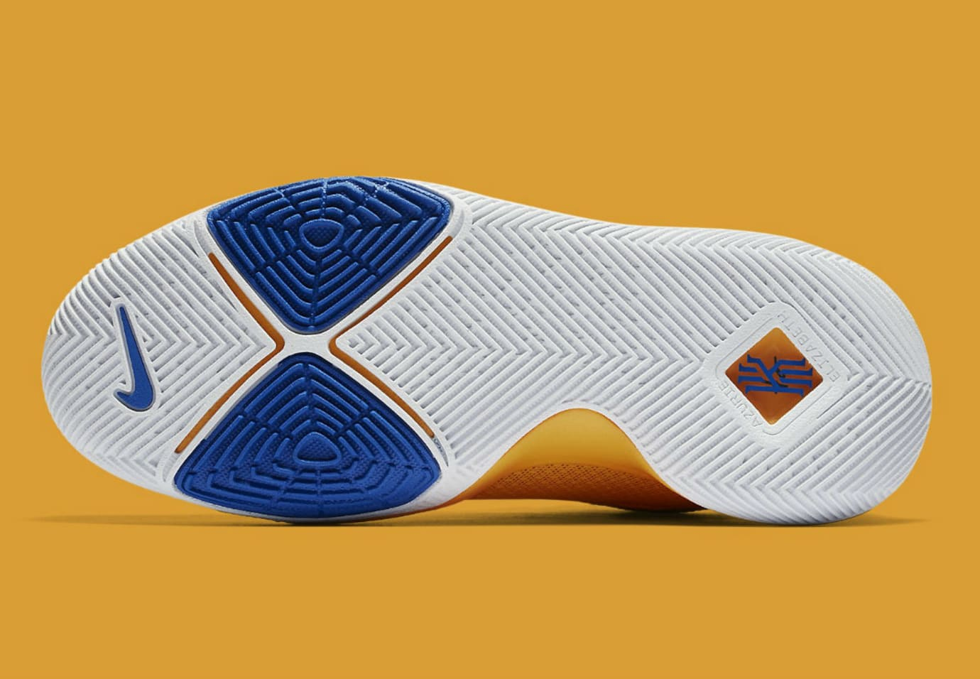 Nike Kyrie 3 Mac and Cheese Release Date Sole 859466-791