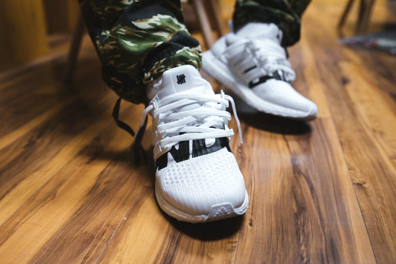 Undefeated x Adidas Ultra Boost 'White'