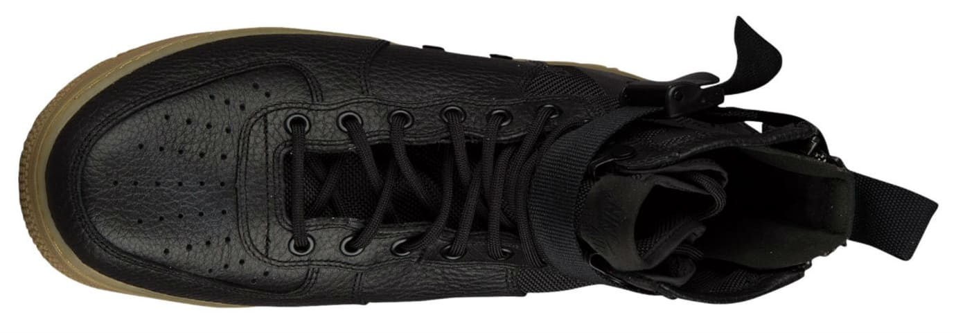 Nike SF Air Force 1 Mid Black Gum Release Date Top 917753-003