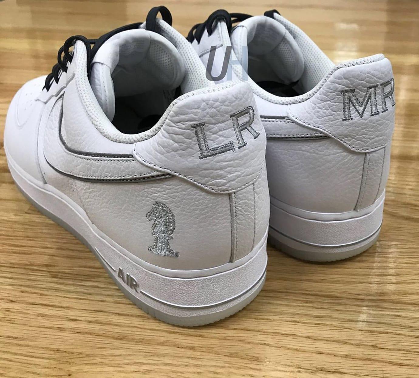 146e0de786e76 Nike Air Force 1 Low LeBron James 4 Horsemen Heel