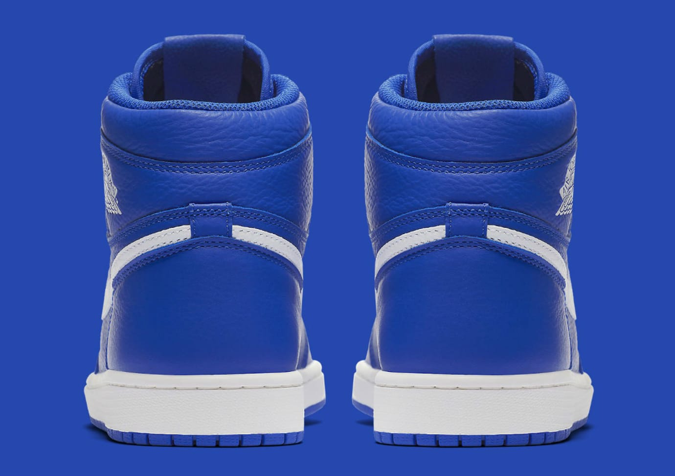 0ce344111cecf7 Image via Nike Air Jordan 1 He Got Game Hyper Royal Release Date 555088-401  Heel