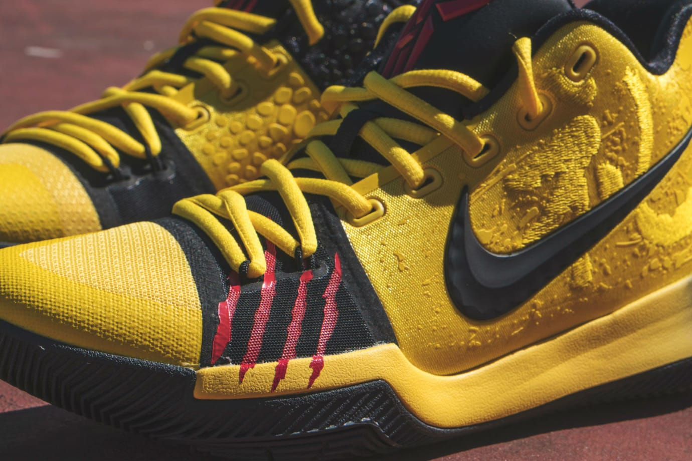 super popular db4af 577e5 Nike Kyrie 3 Mamba Mentality Bruce Lee Restock Detail AJ1672-700