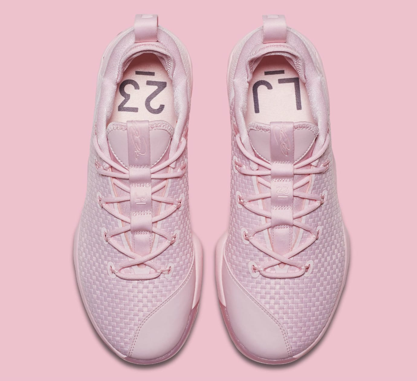 Nike LeBron 14 Low Pink Release Date Top 878635-600