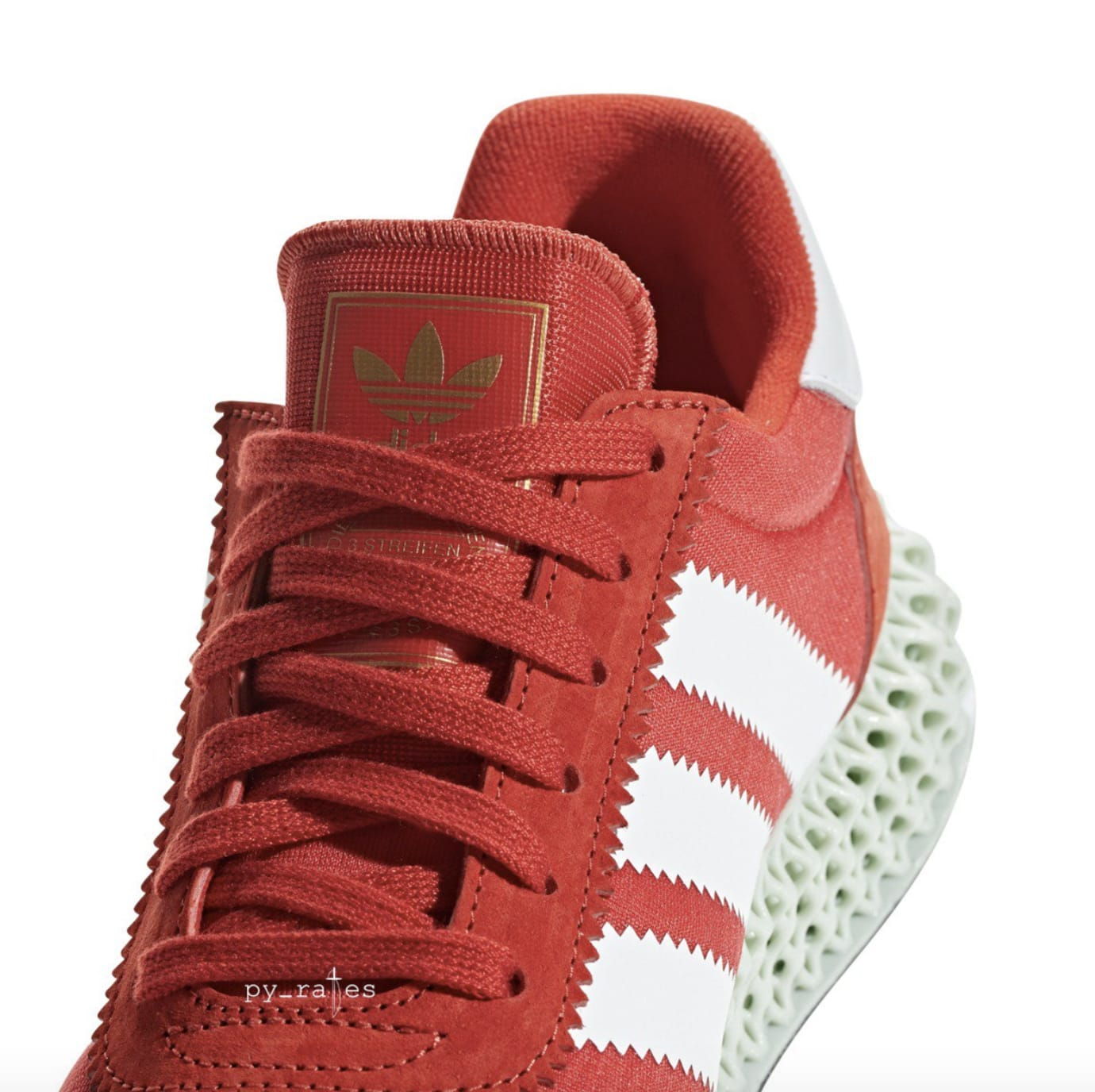 Adidas 4D-5923 'Red/White' (Tongue)